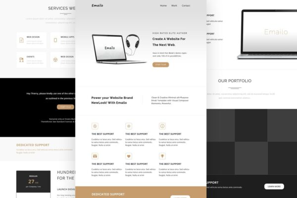 Emailo- Email Responsive Và Template Tin Tức